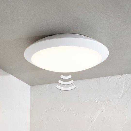 LED-ulkokattovalaisin Naira, valkoinen, anturi
