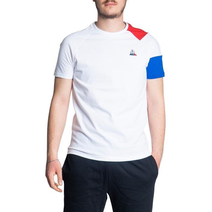 Le Coq Sportif Men's T-Shirt White 243003 - white XL