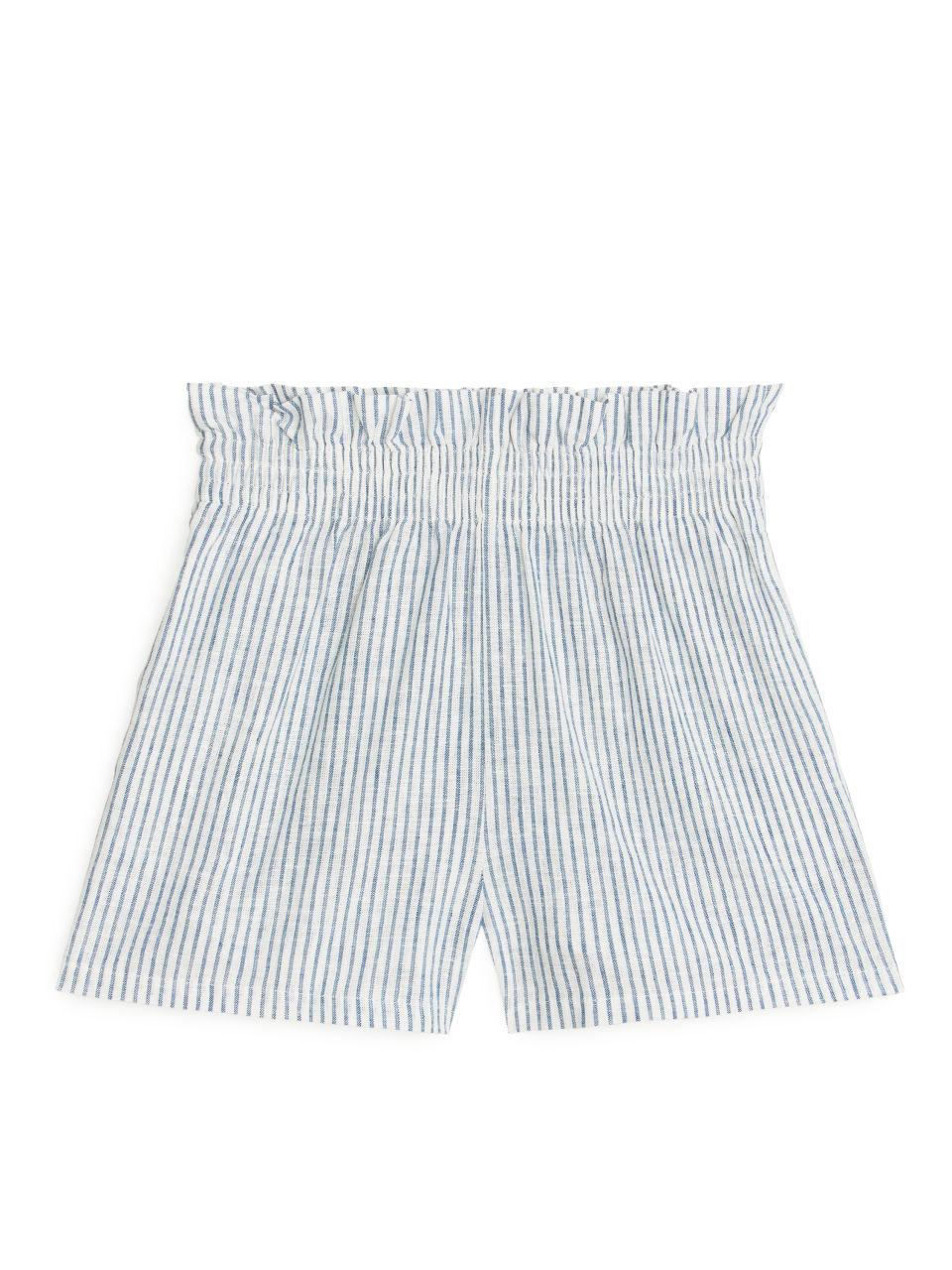 Paperbag Shorts - White