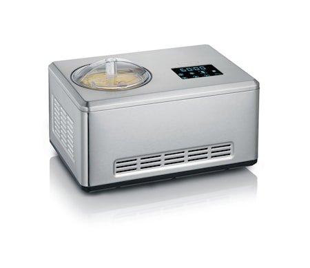 Ismaskin med Kompressor, Yoghurtfunksjon, 2 L