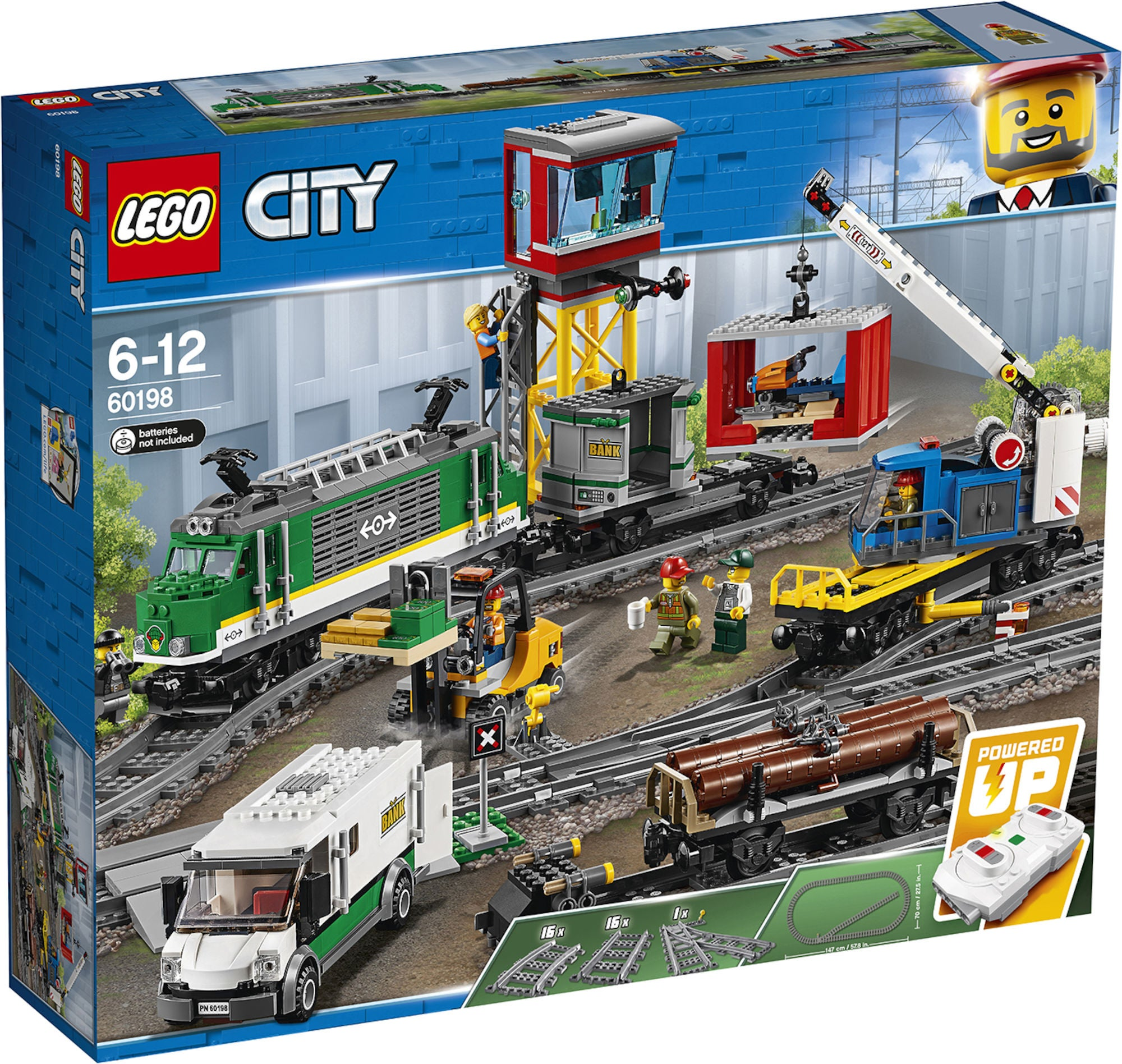 LEGO City Trains 60198 Tavarajuna