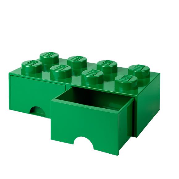 Room Copenhagen - LEGO Brick Drawers 8 - Green (40061734)