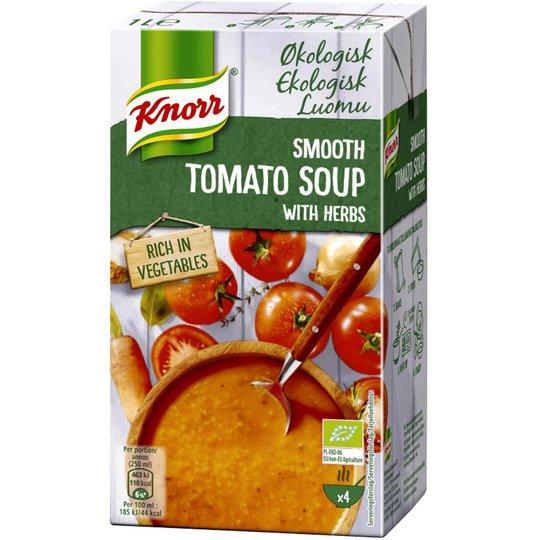 "Luomu Tomaattikeitto ""Herbs"" 1l - 77% alennus"
