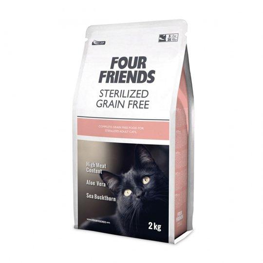 FourFriends Cat Sterilized Grain Free (2 kg)