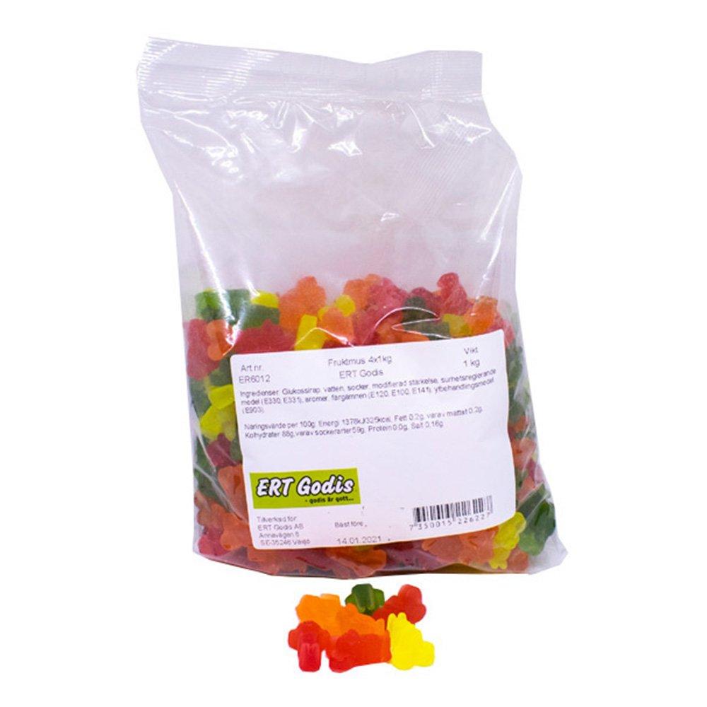 Godispåse Fruktbjörnar - 1 kg