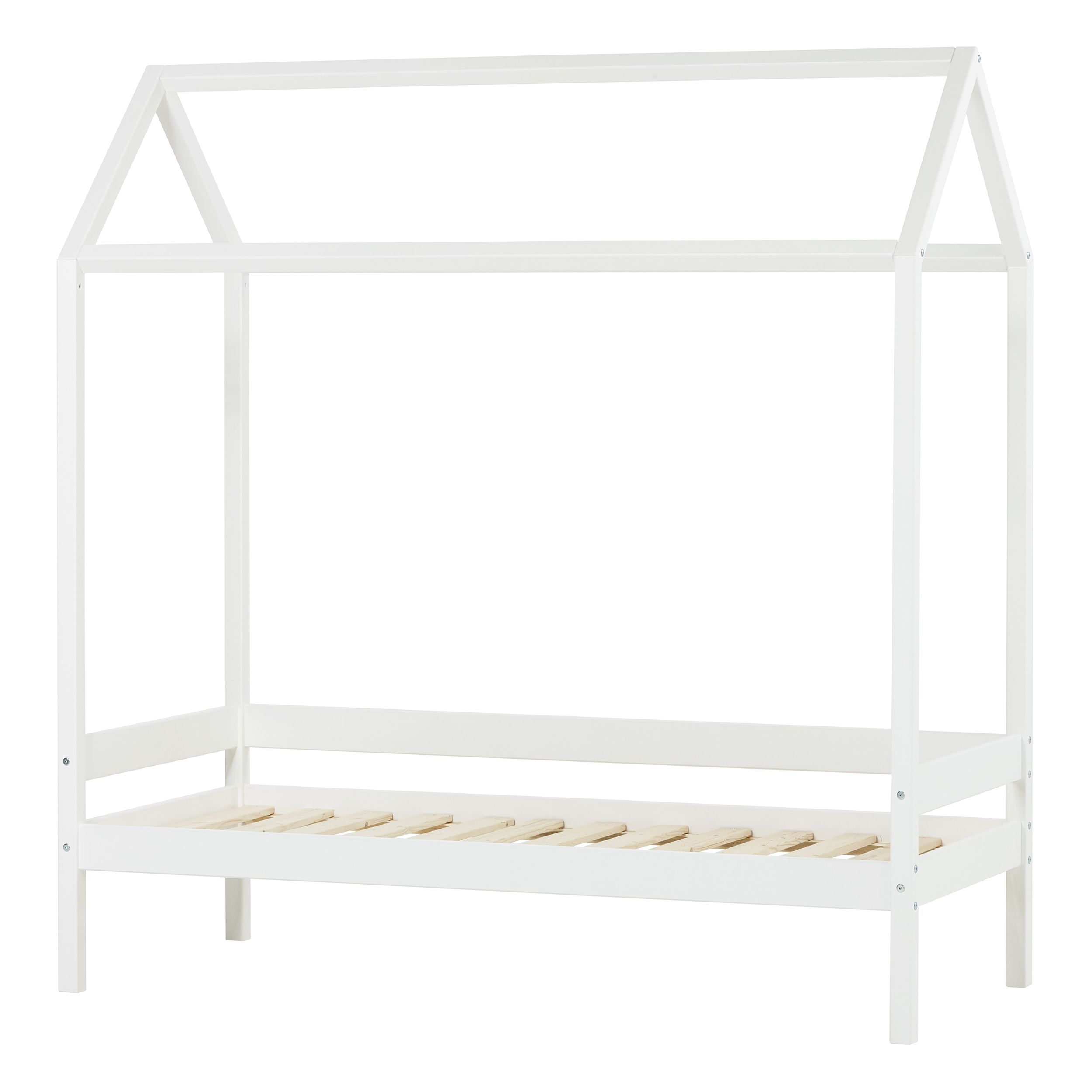 Hoppekids - IDA-MARIE House Bed 70x160cm - White