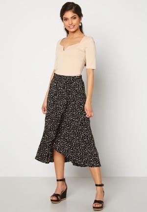 Happy Holly Emma skirt Black / Offwhite 36/38