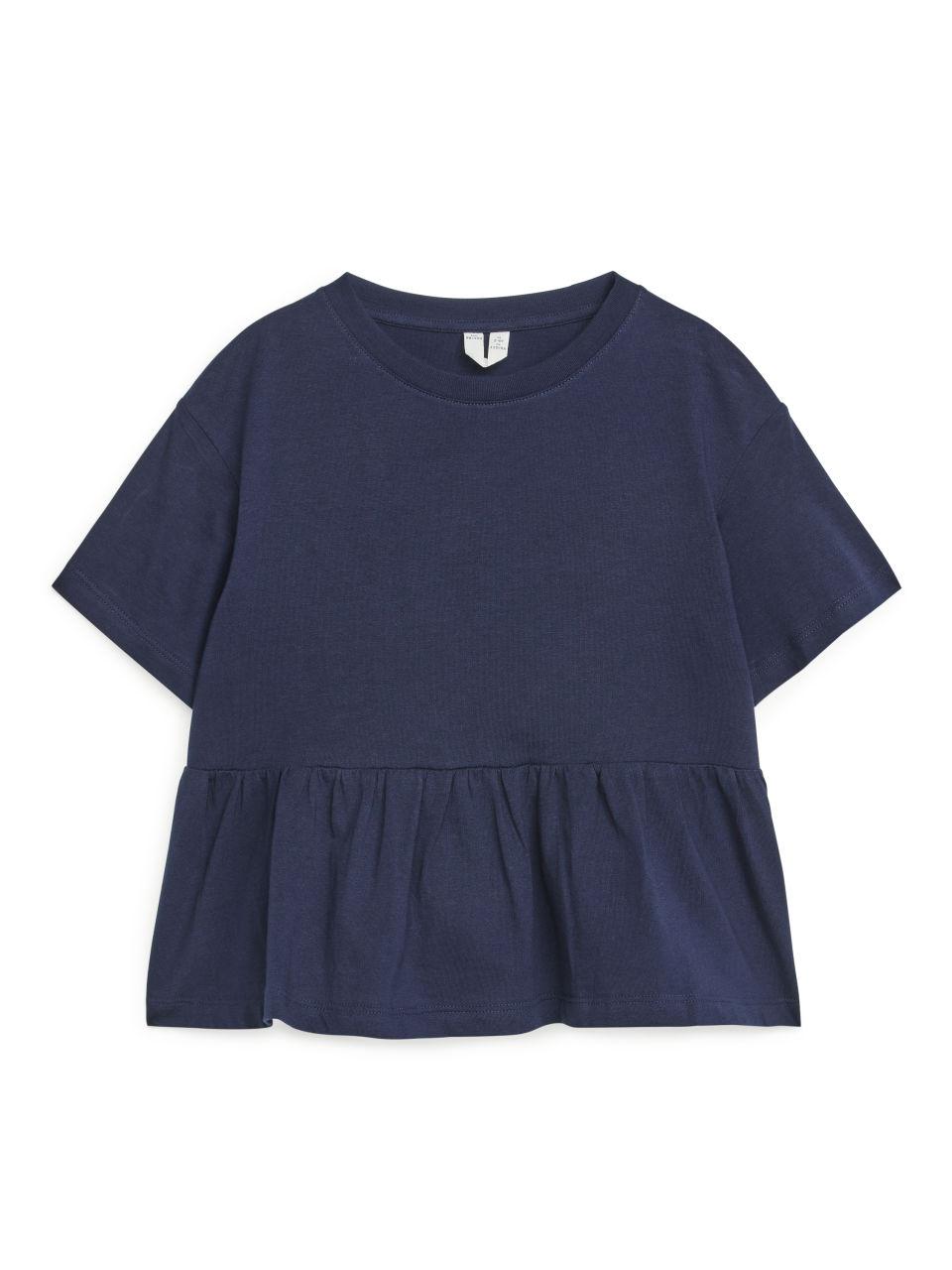 Tiered T-Shirt - Blue