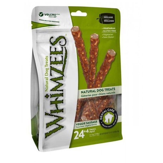 Whimzees Veggie Sausage Påse (Small)