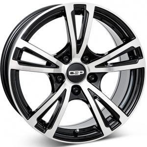 CSP 18 Gloss Black Polished 7.5x17 5/120 ET37 B72.5