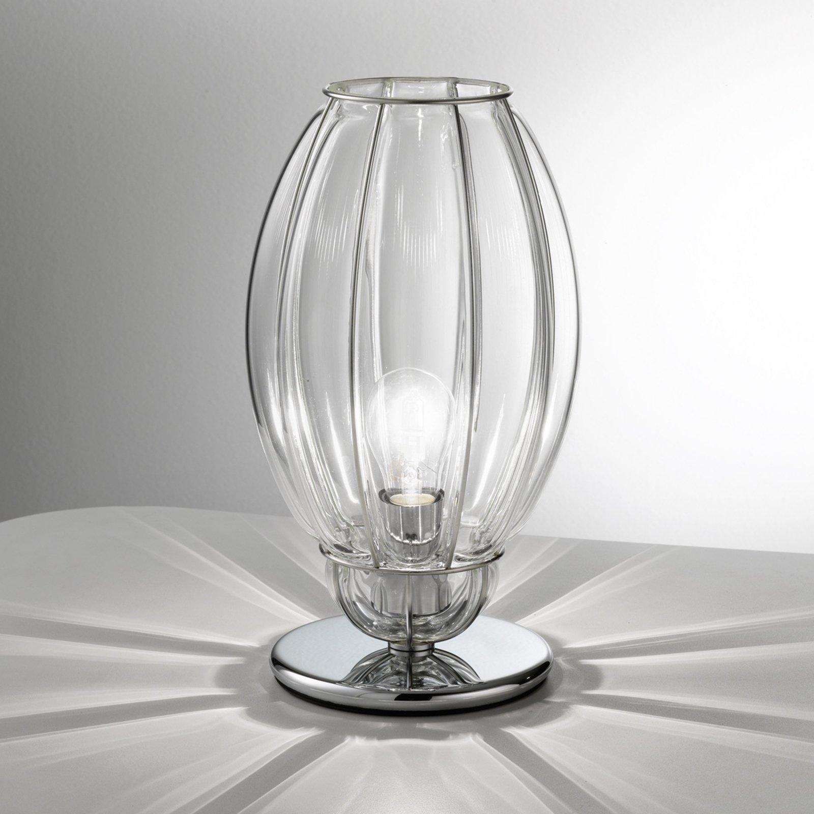 Nautilus bordlampe, transparent