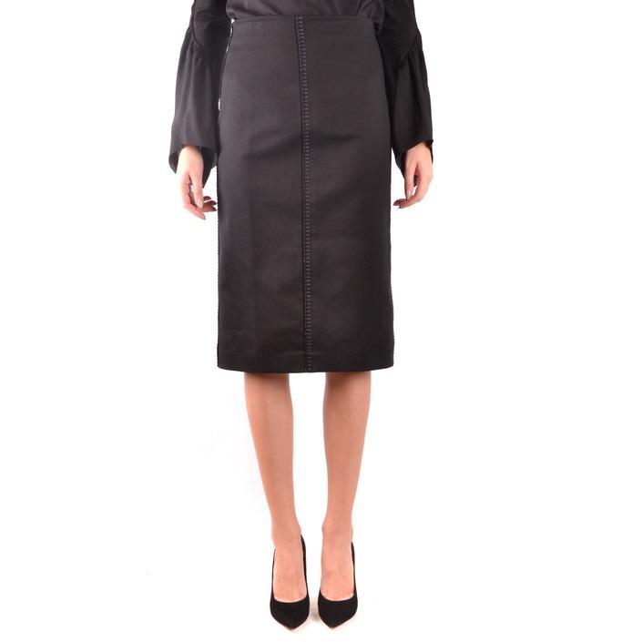 Fendi Women's Skirt Black 187212 - black 40