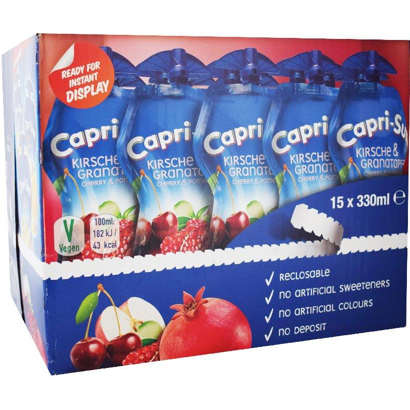 Capri-Sun Körsbär & Granatäpple 15-Pack - 41% rabatt