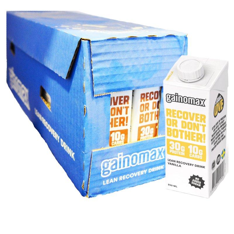 """Laatikollinen palautusjuomaa """"Vanilla"""" 16 x 250 ml - 40% alennus"""