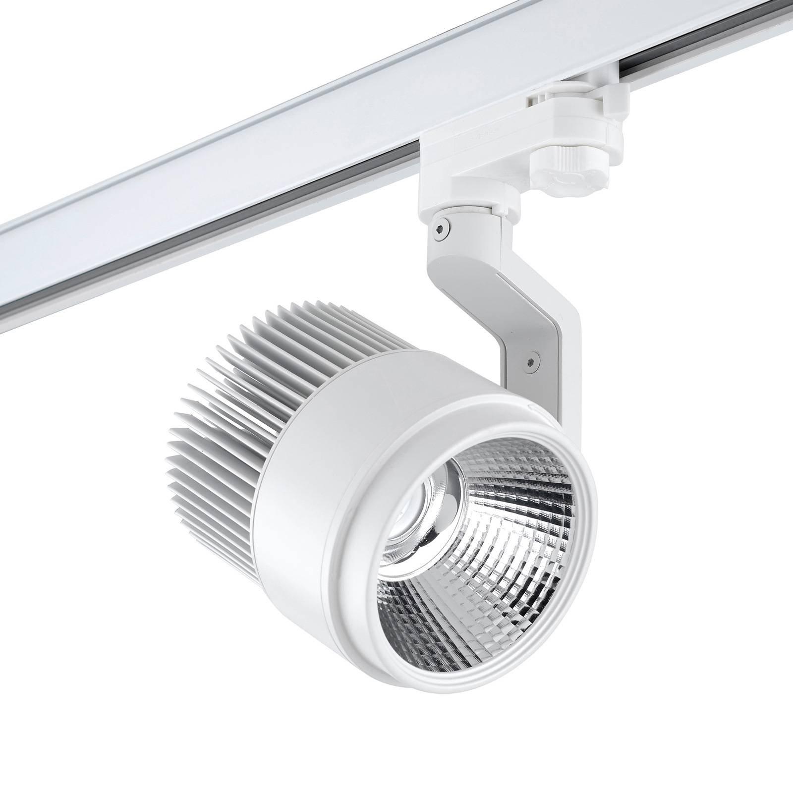 LEDS-C4 Action AC LED-spot for HV-skinne, hvit