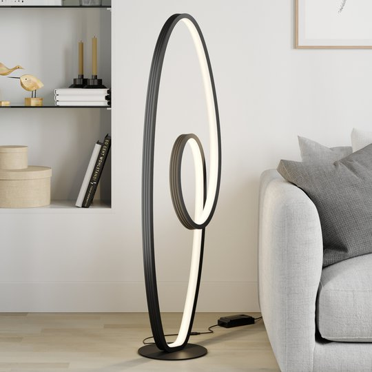 Lucande Bronwyn -LED-lattiavalaisin