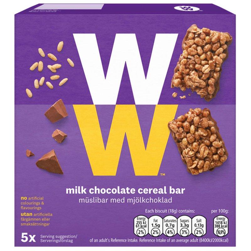 Müslibar Mjölkchoklad - 26% rabatt