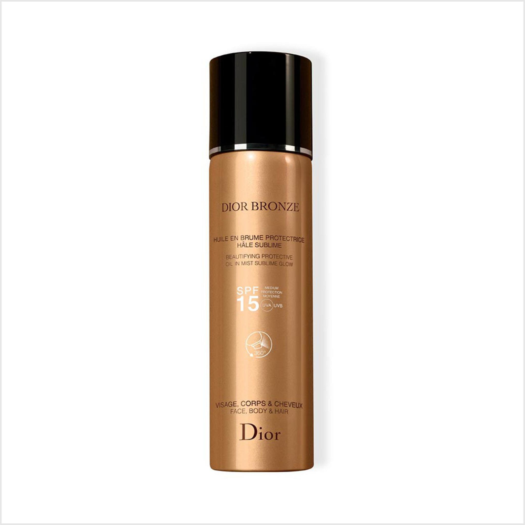 Dior Bronze Oil In Mist SPF 15 , 125 ML