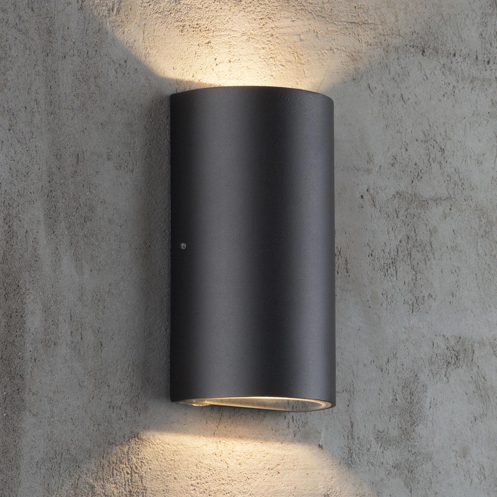 LED-ulkoseinävalaisin Rold, pyöreä