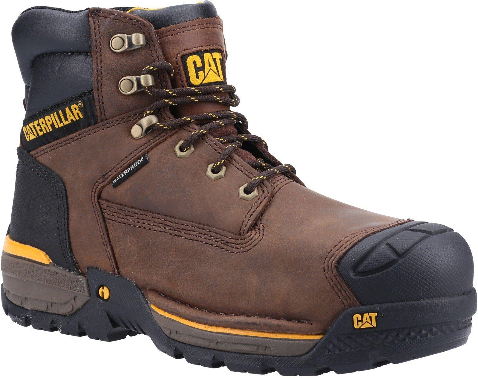 Caterpillar Unisex Excavator Lace Up Safety Hiker Boot Espresso - Espresso 6