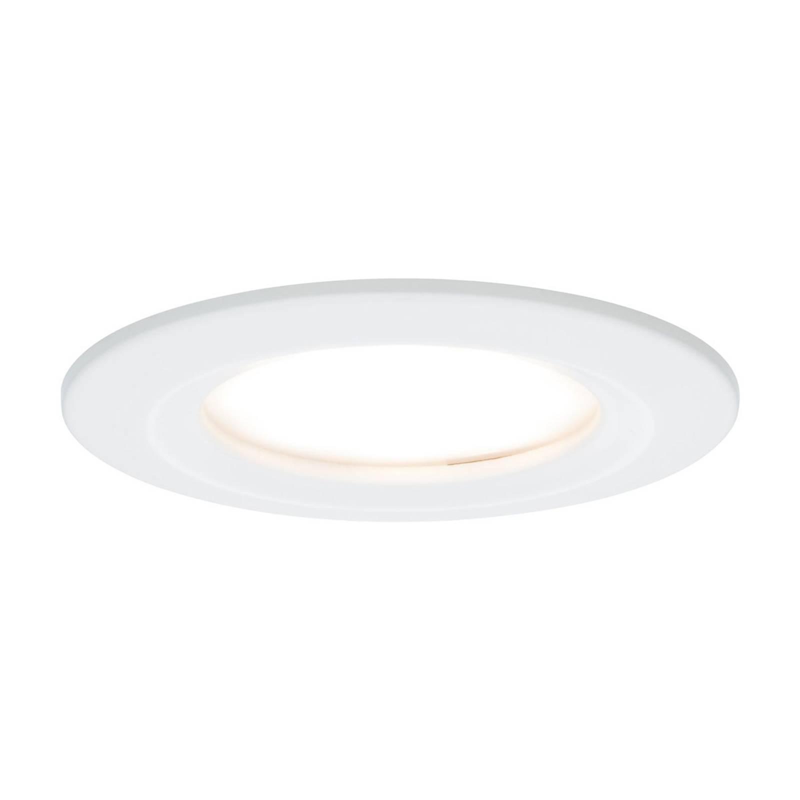 Paulmann LED-spotti Nova Coin pyöreä, valkoinen