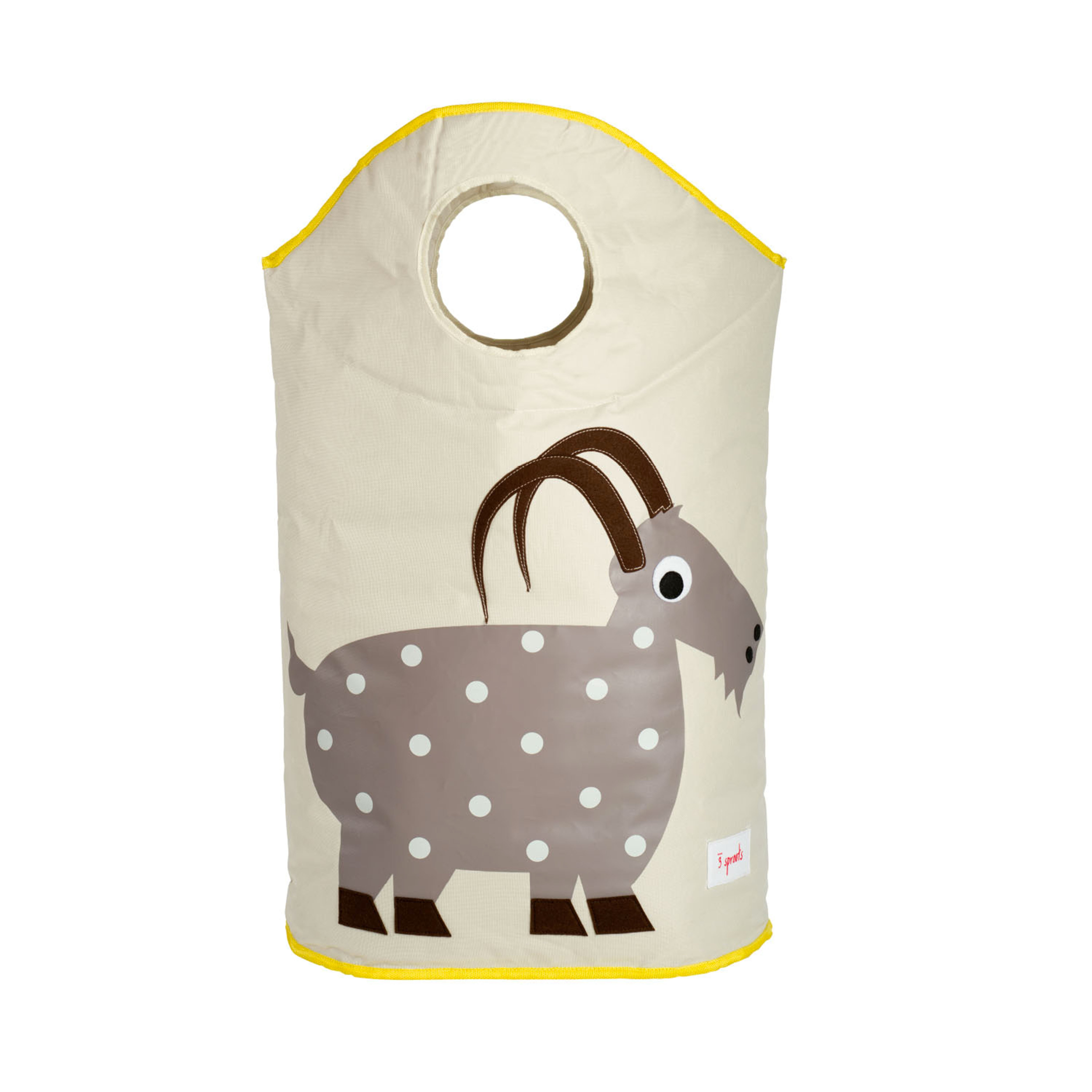 3 Sprouts - Laundry Hamper - Gray Goat