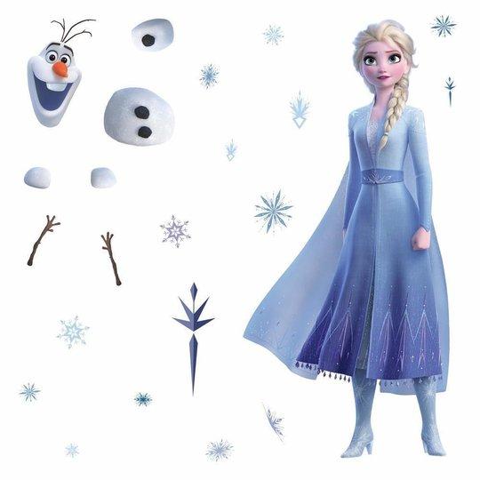 RoomMates Wallstickers Frozen Elsa & Olaf