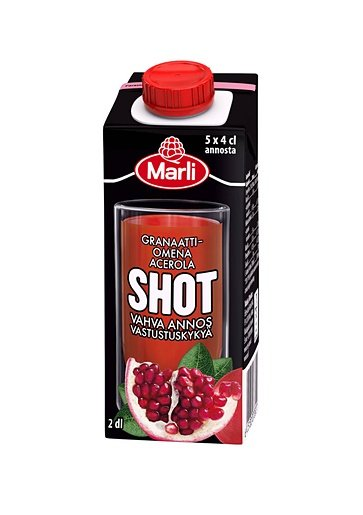 Shot Granaattiomena & Acerola - 48% alennus