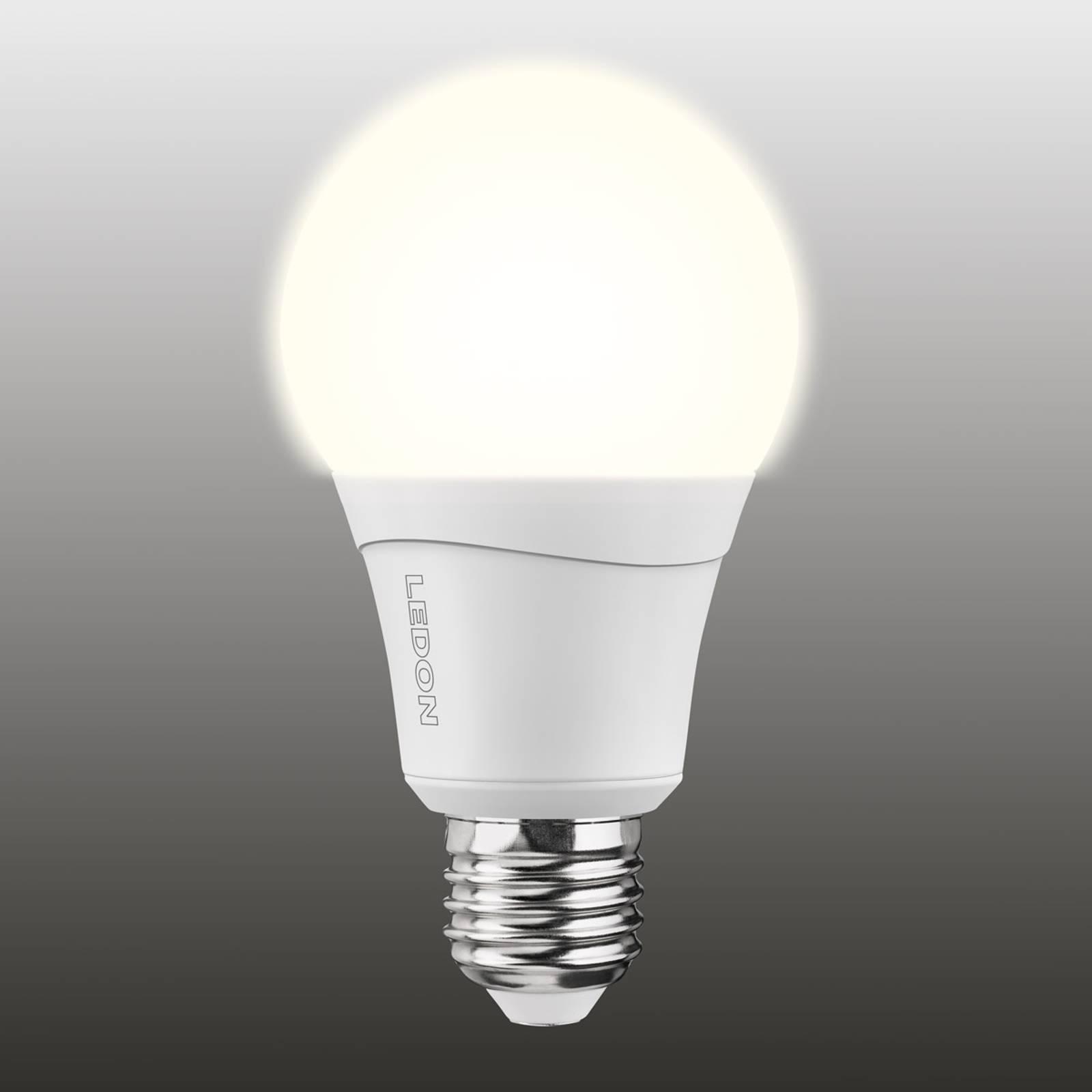 E27 10W dual color (827/840) led-lamppu, himmenne.
