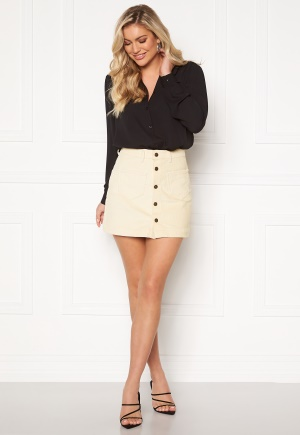 ONLY Amazing HW Corduroy Skirt Whitecap Gray XS