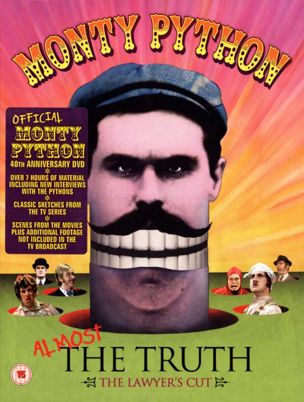 Monty Python: Almost the Truth - The Lawyer's Cut - DVD