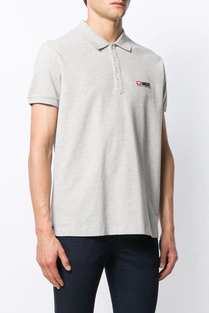 Diesel Men's Polo Shirt Various Colours 283887 - grey-2 M