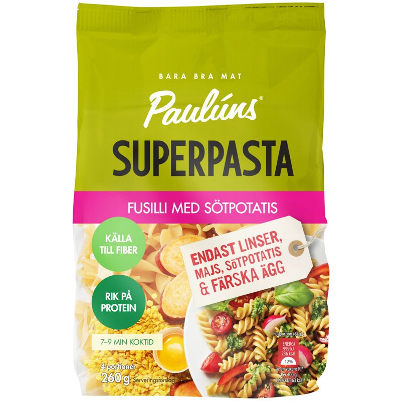 Superpasta Fusilli - 54% rabatt