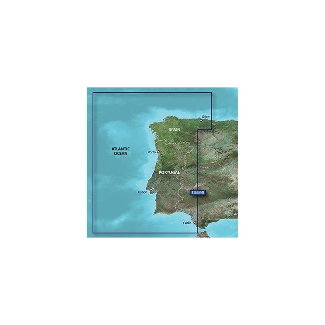 Garmin Portugal - Nordvästra Spanien Garmin microSD™/SD™ card: VEU009R