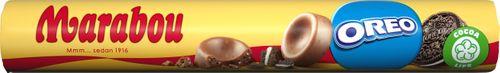 Marabou Mjölkchoklad Rulle med Oreo 67g