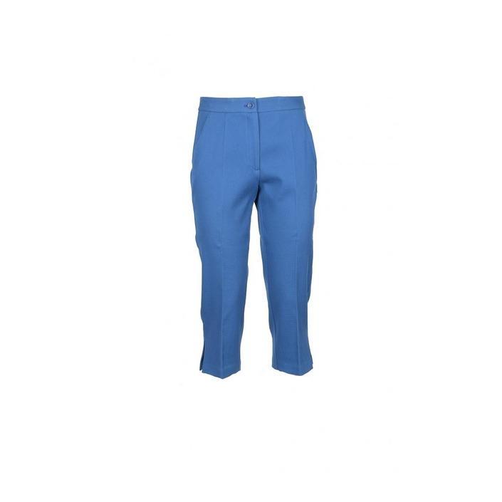Boutique Moschino Women's Trouser Blue 172037 - blue 46