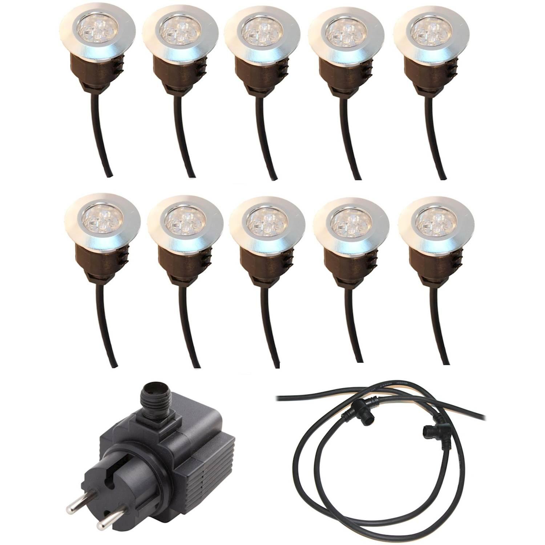 LightsOn Decklight Spectrum LED 10-p