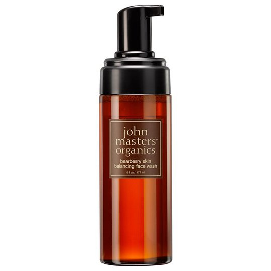 John Masters Organics Bearberry Skin Balancing Face Wash, 177 ml