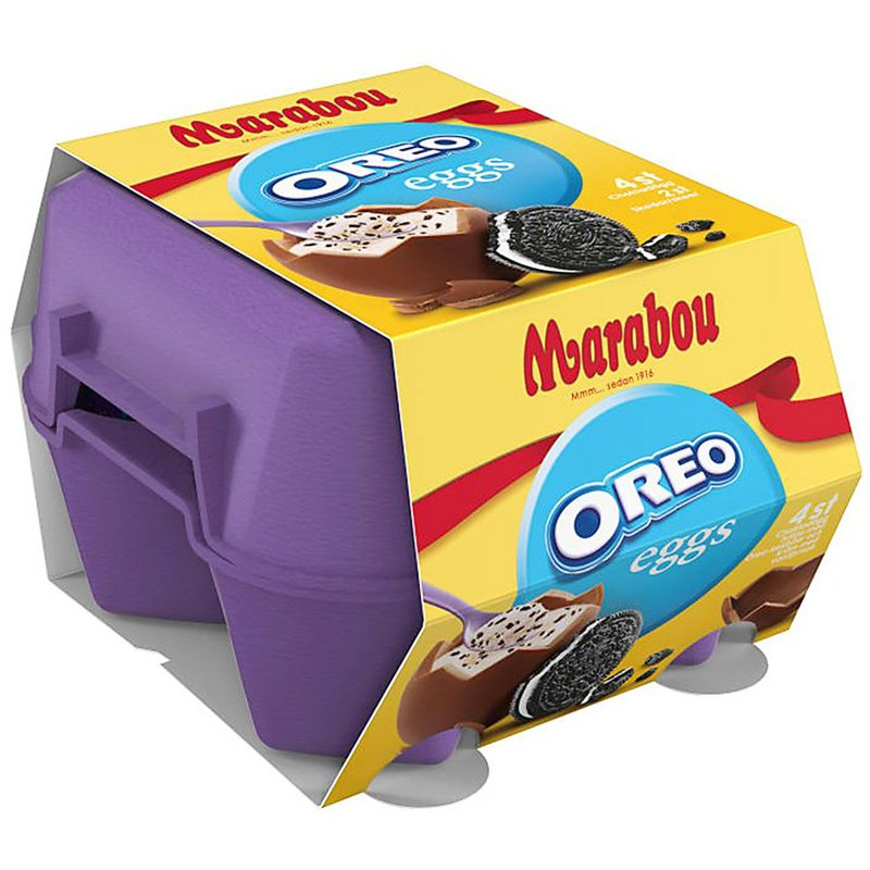 Marabou Oreo Ägg 4-pack - 54% rabatt