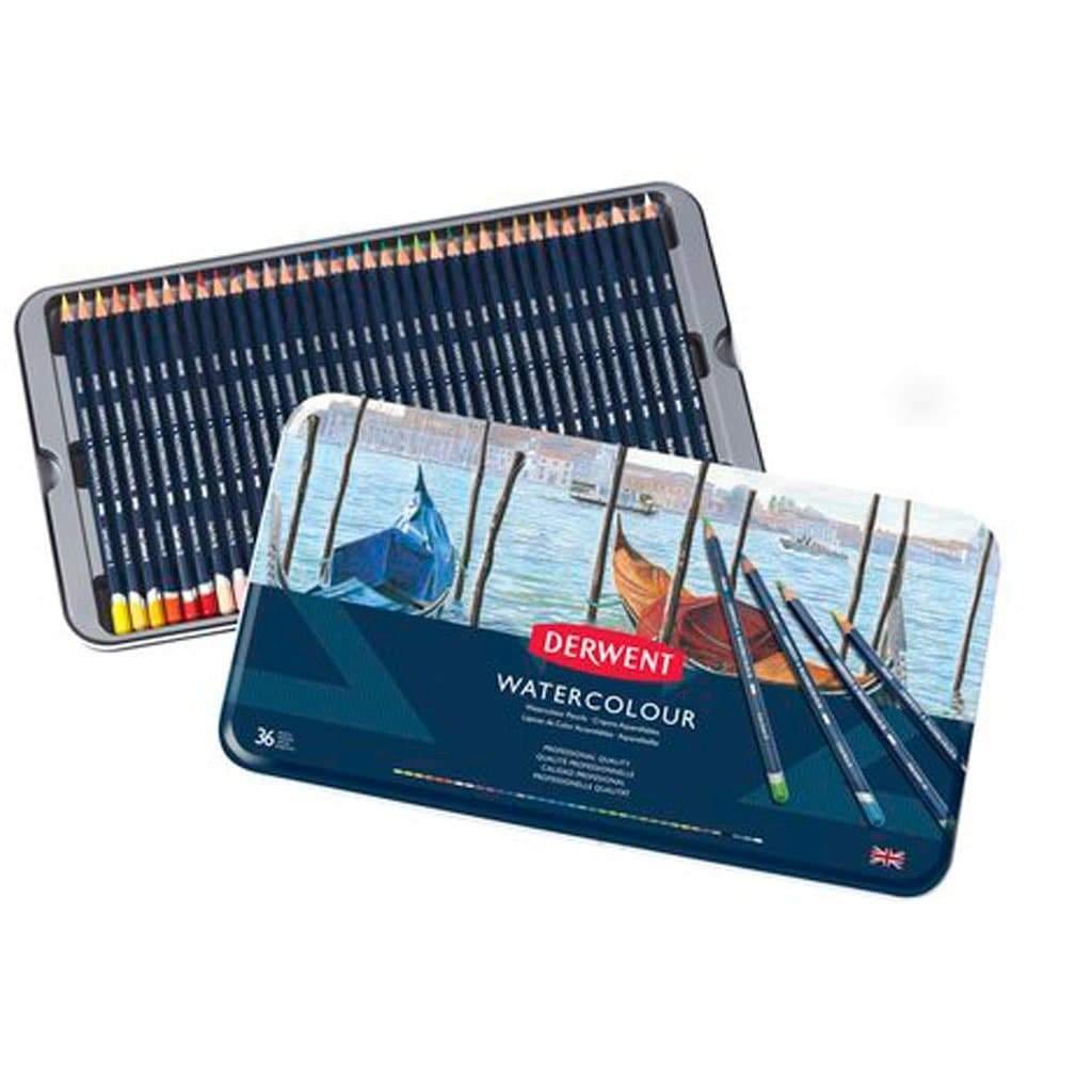 Derwent - Watercolour Pencils, 36 Tin