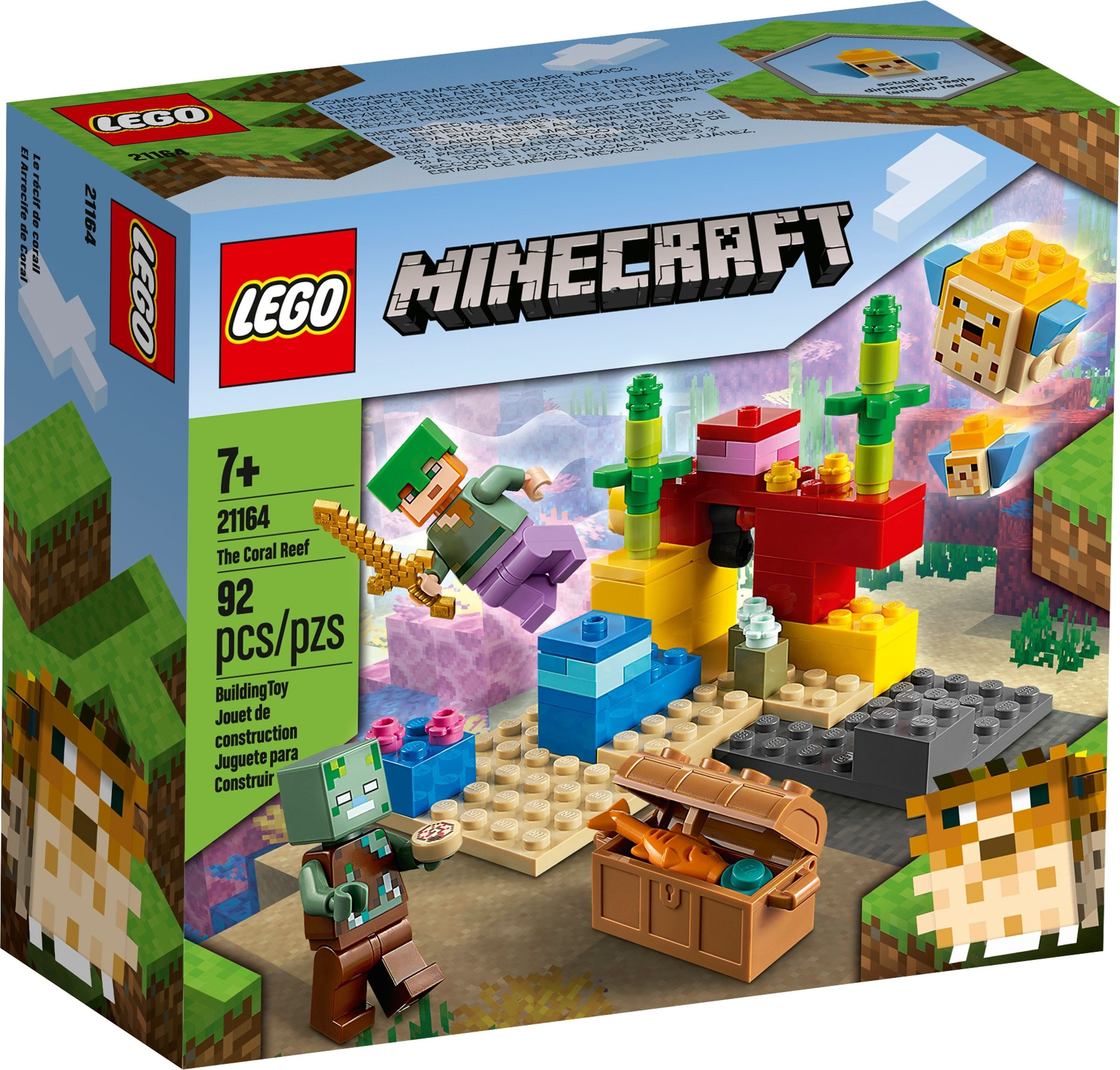 LEGO Minecraft - The Coral Reef (21164)