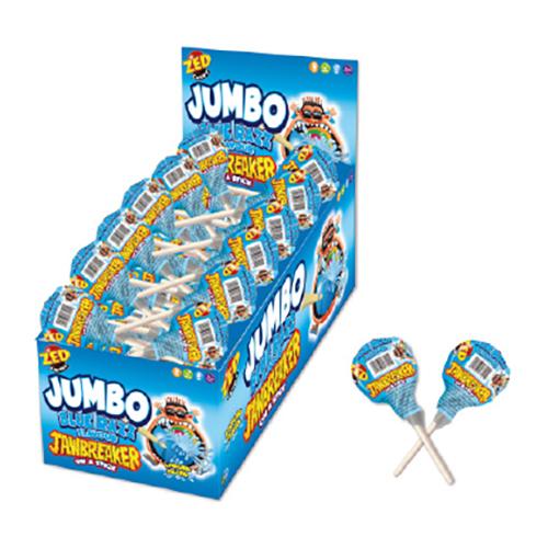 Jumbo Jawbreaker Blue Razz Godisklubba