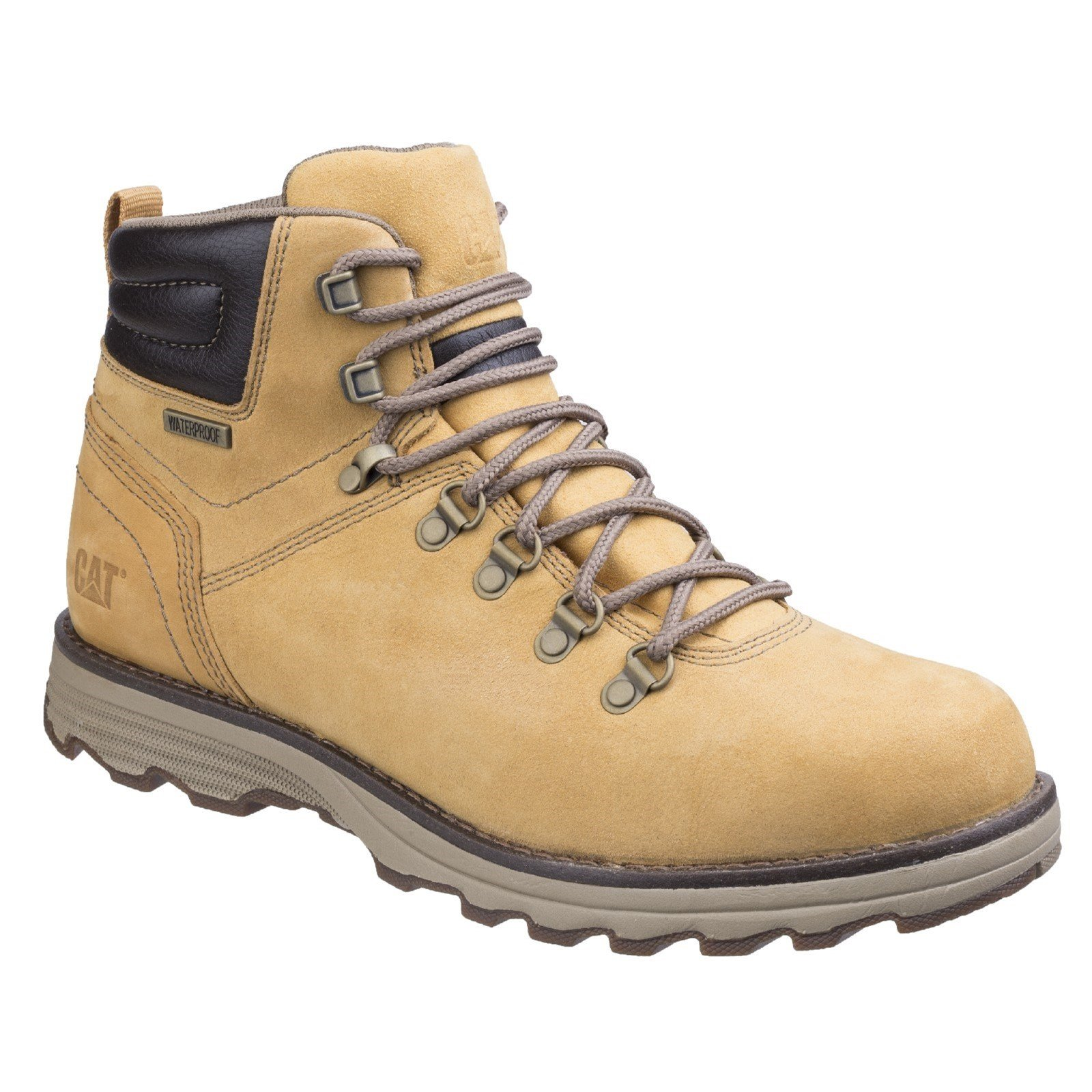 CAT Lifestyle Men's Sire Waterproof Lace Up Boot Honey 26181 - Honey 7