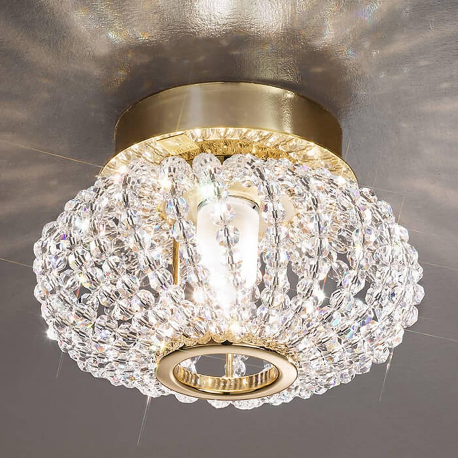 CARLA-kristallikattovalaisin kullalla
