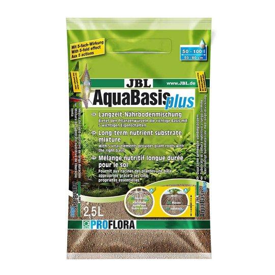 JBL AquaBasis Plus Bottensubstart 2,5 liter