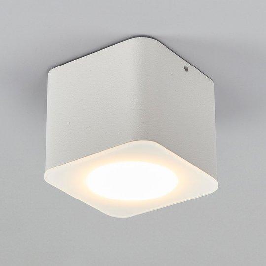 Helestra Oso LED kulmikas, matta valkoinen