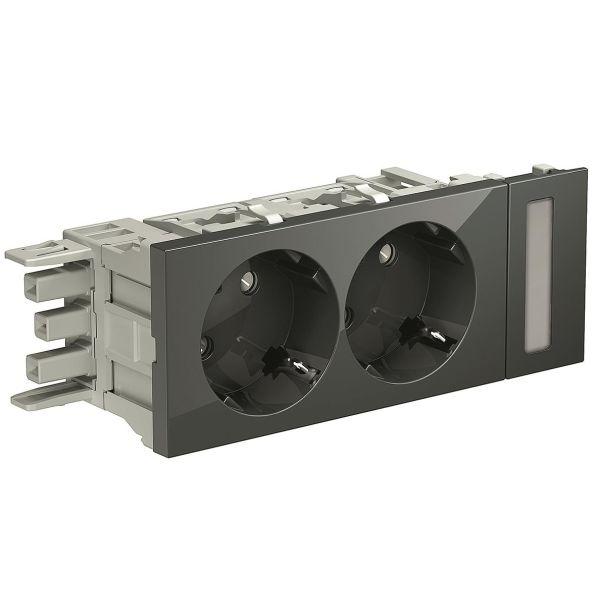 Schneider Electric INS62001 Vekkuttak 100 x 50 x 40 mm Mørkegrå