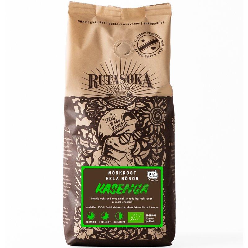 Kahvipavut Kasenga - 25% alennus