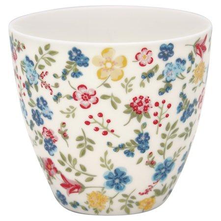 Sophia Latte Cup Hvit
