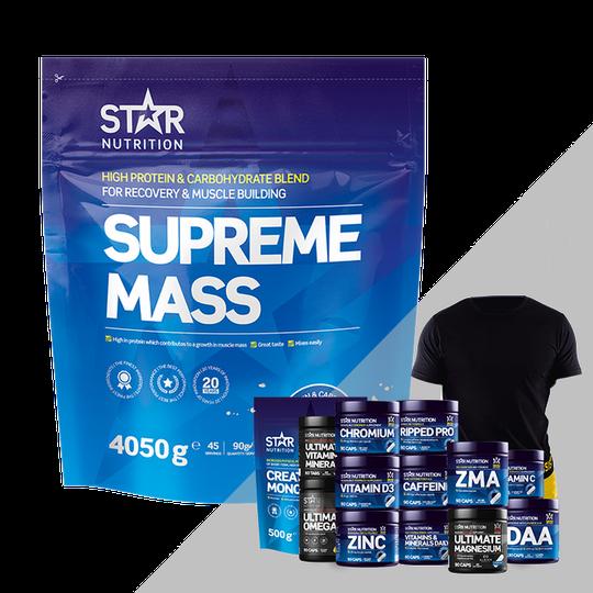Supreme Mass, 4 kg + Bonus Product!